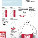Big Hero 6 manualidad Baymax (hoja 1 de 2)
