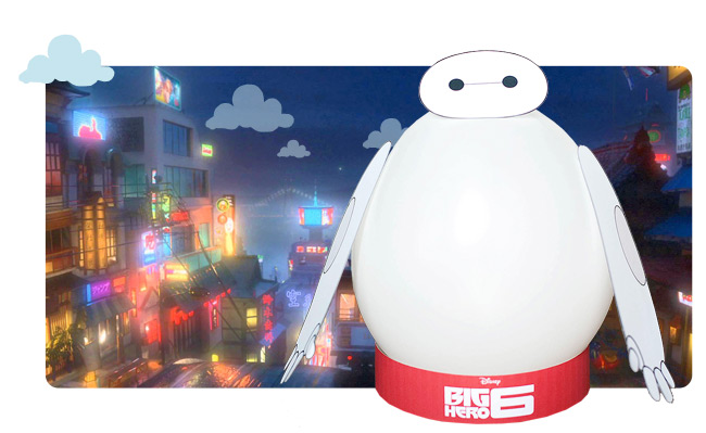 Big Hero 6 manualidad Baymax